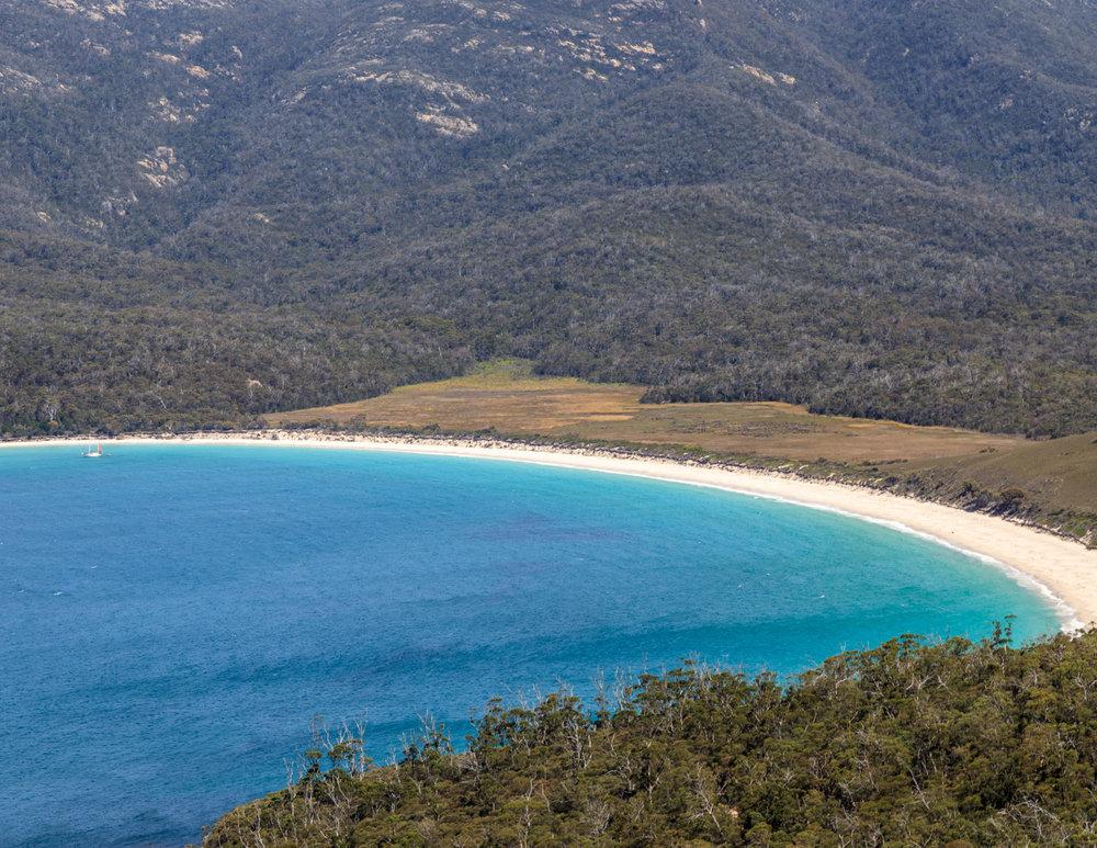 Best beaches in Australia: Wineglass Bay, Tasmania