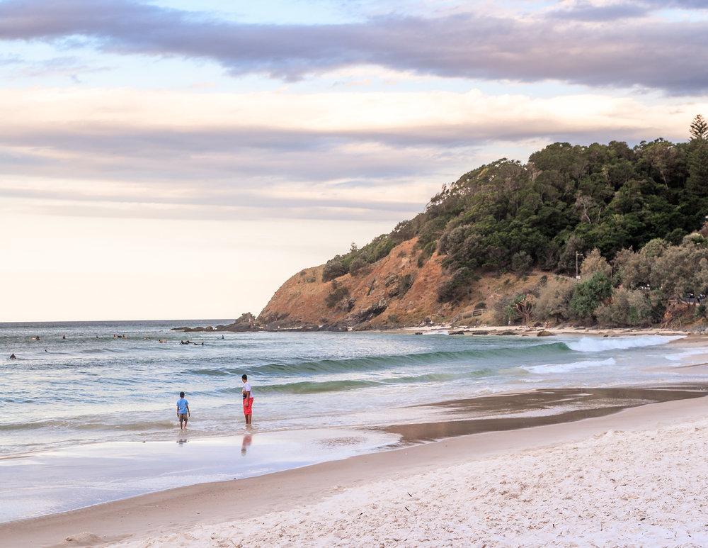 Best beaches in Australia: Wategos, NSW