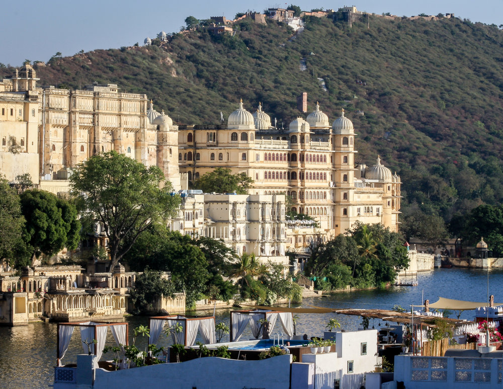 Tourist places in Rajasthan: Rooftops in Udaipur