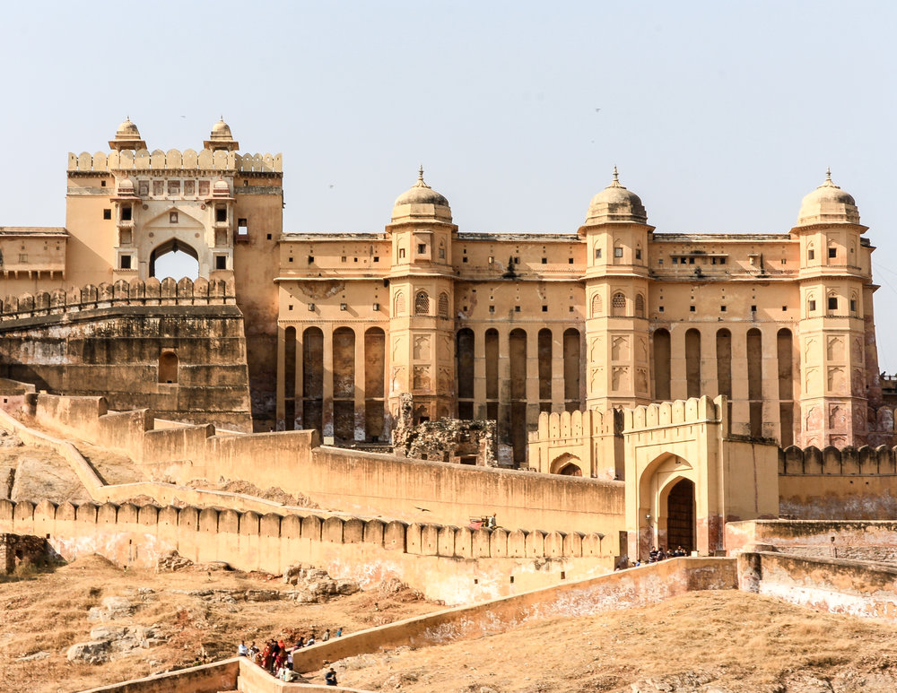 Tourist places in Rajasthan: Amber Fort