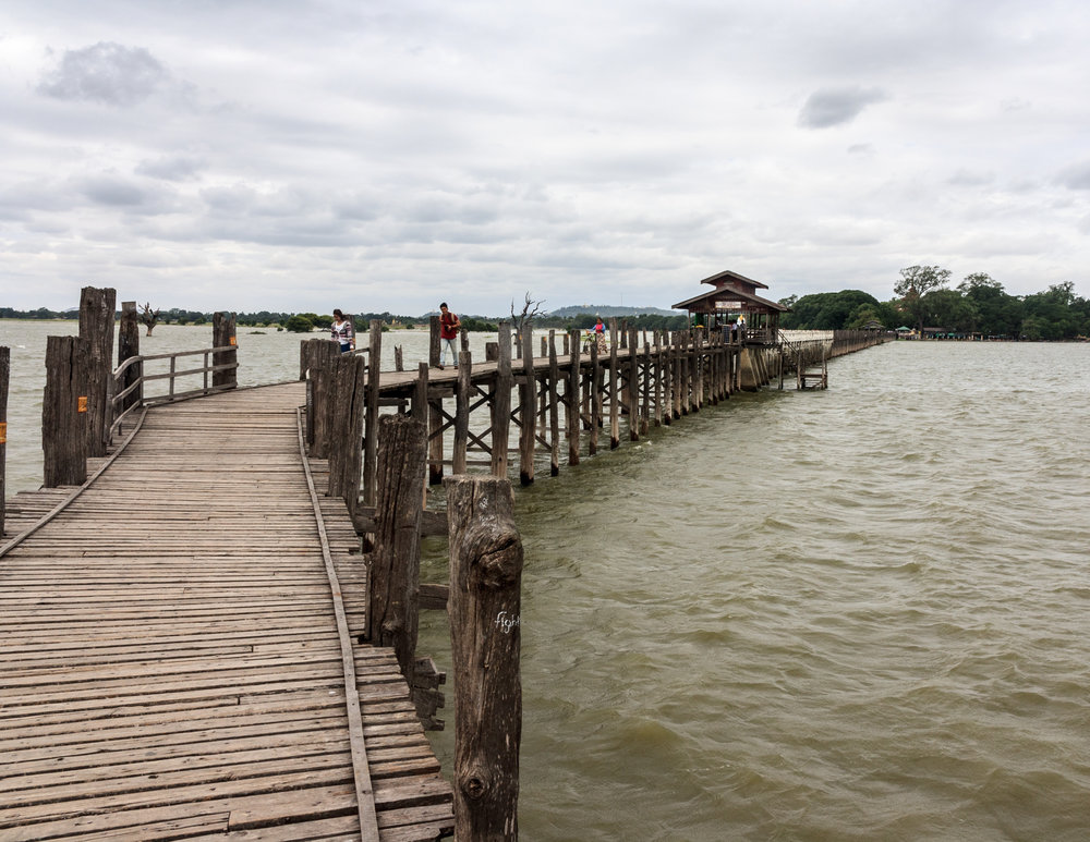Myanmar Destinations: U-Bein Bridge