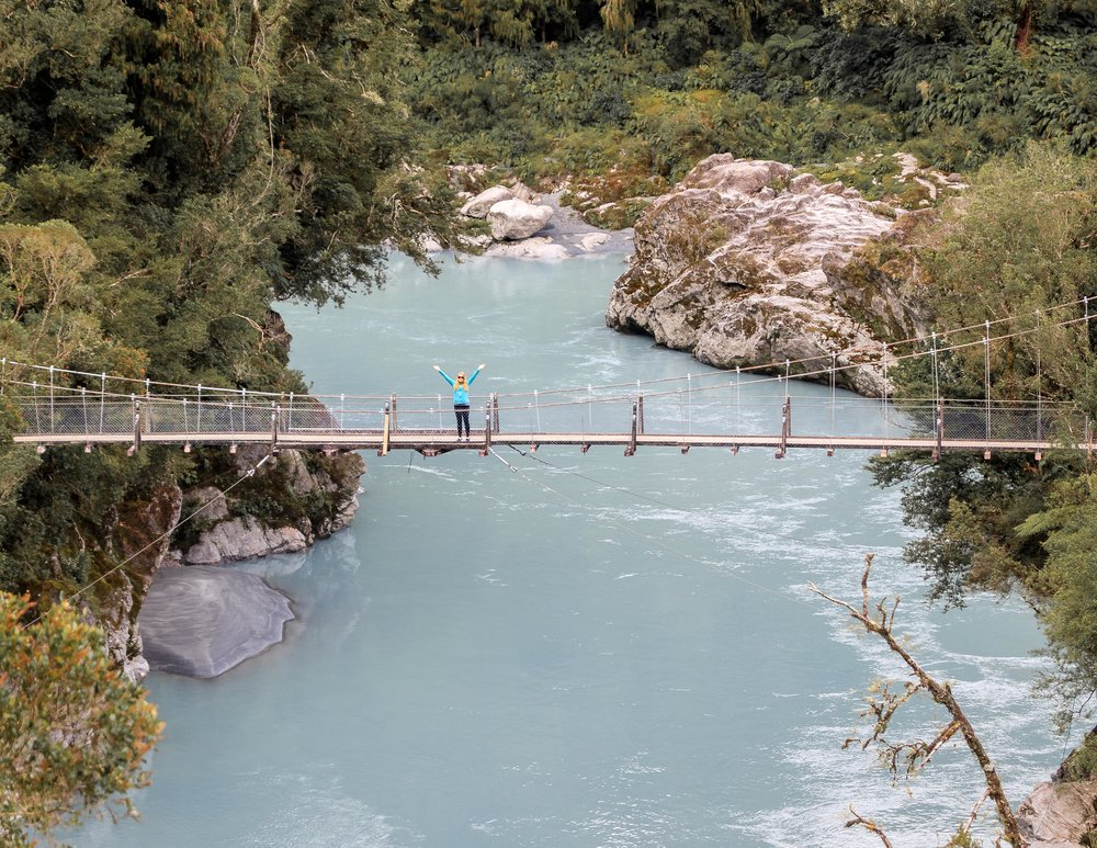 Hokitika Gorge, New Zealand