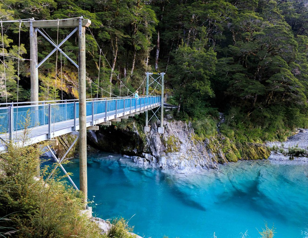 Haast Blue Pools, New Zealand