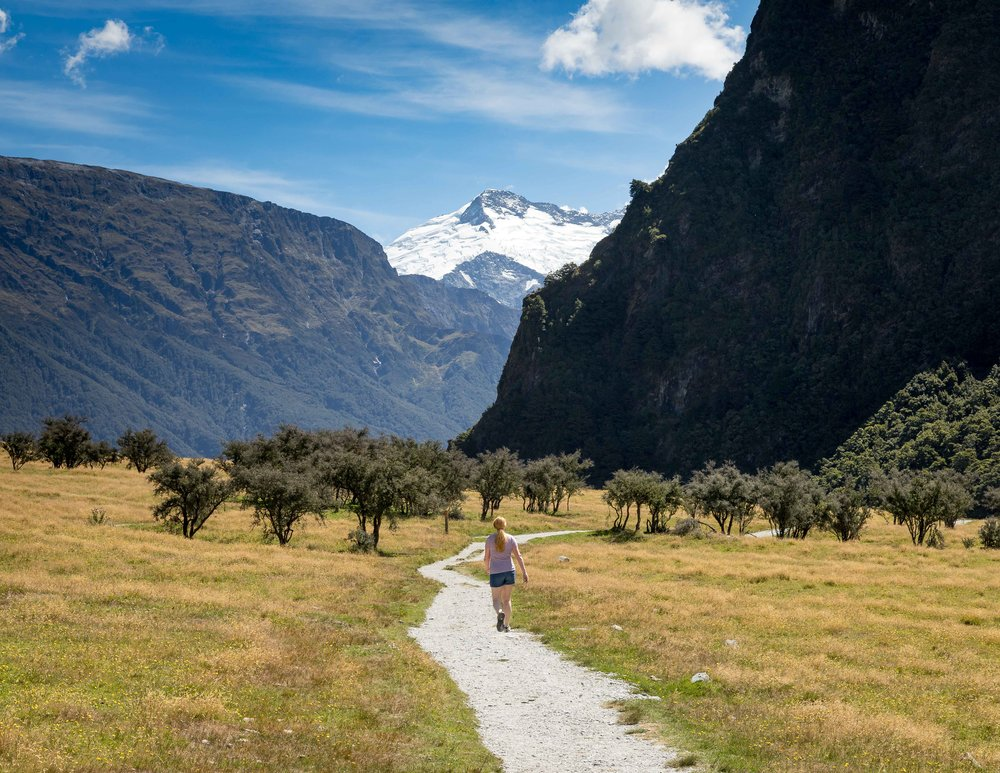 Rob Roy Glacier Trail, Wanaka, New Zealand