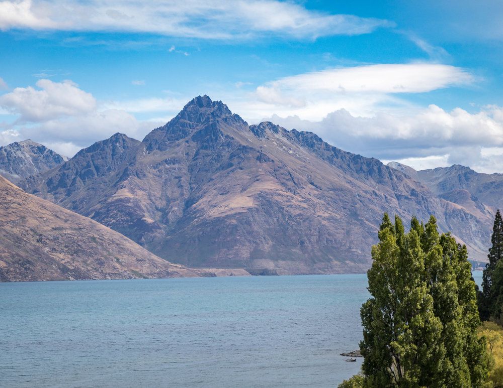 Queenstown, West Coast of New Zealand