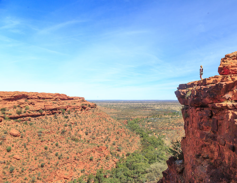 3 week itinerary of Australia: Kings Canyon Rim Walk