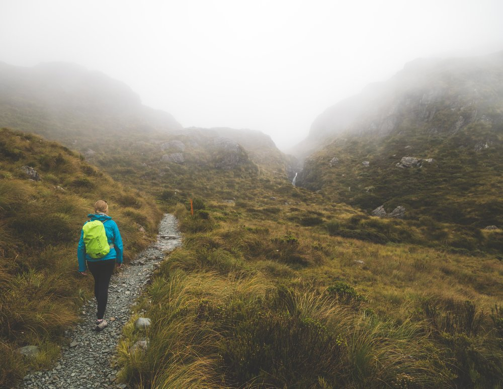 The Routeburn Track: Hiking to Harris Saddle