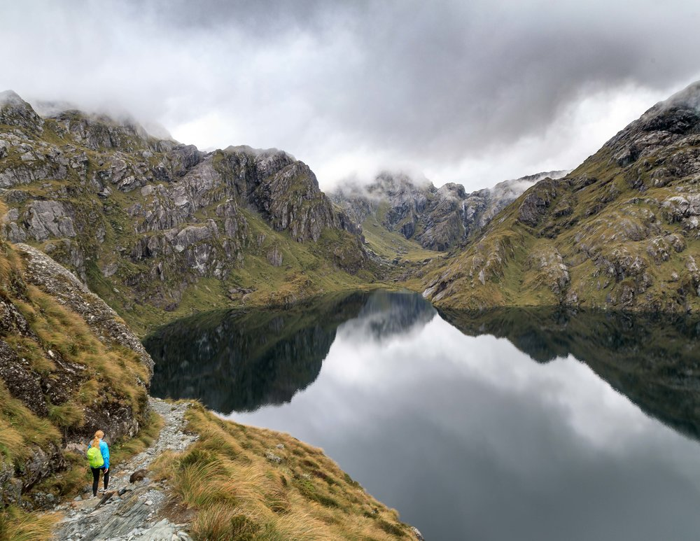 The Routeburn Track: Lake Harris