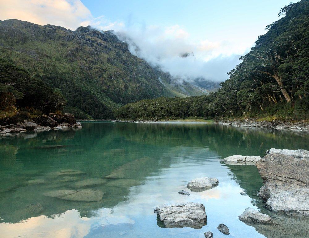 The Routeburn Track: Lake MacKenzie
