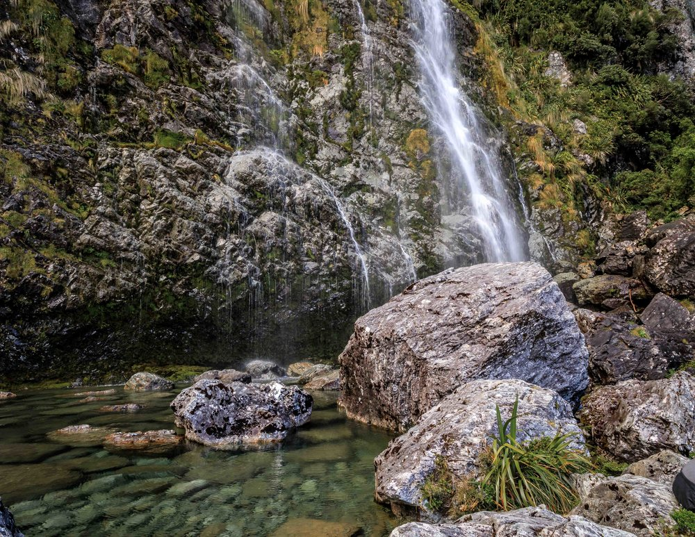 The Routeburn Track: Earland Falls