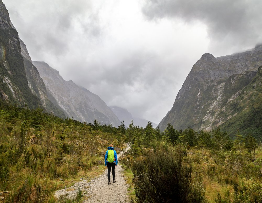 The Milford Track: The Clinton Valley
