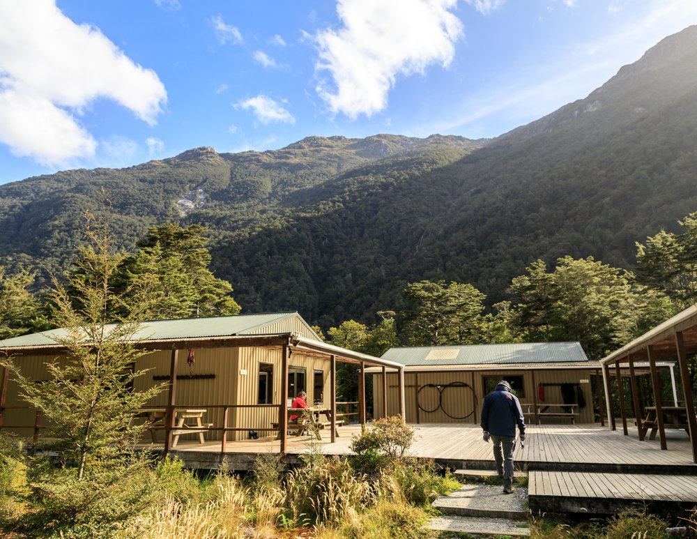 The Milford Track: Clinton Hut