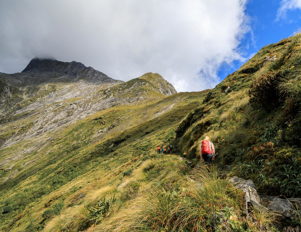 The Milford Track: Climbing the MacKinnon Pass