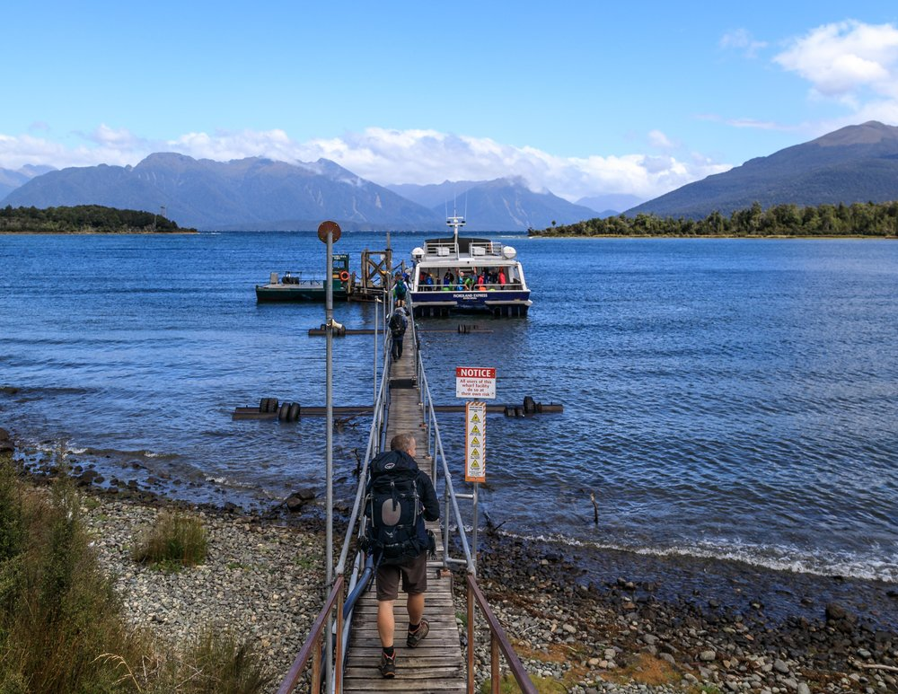 The Milford Track: Te Anau Downs Ferry