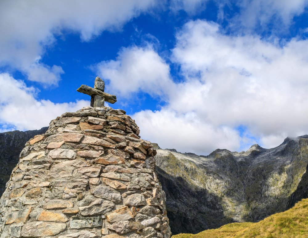 The Memorial at the MacKinnon Pass, The Milford Track