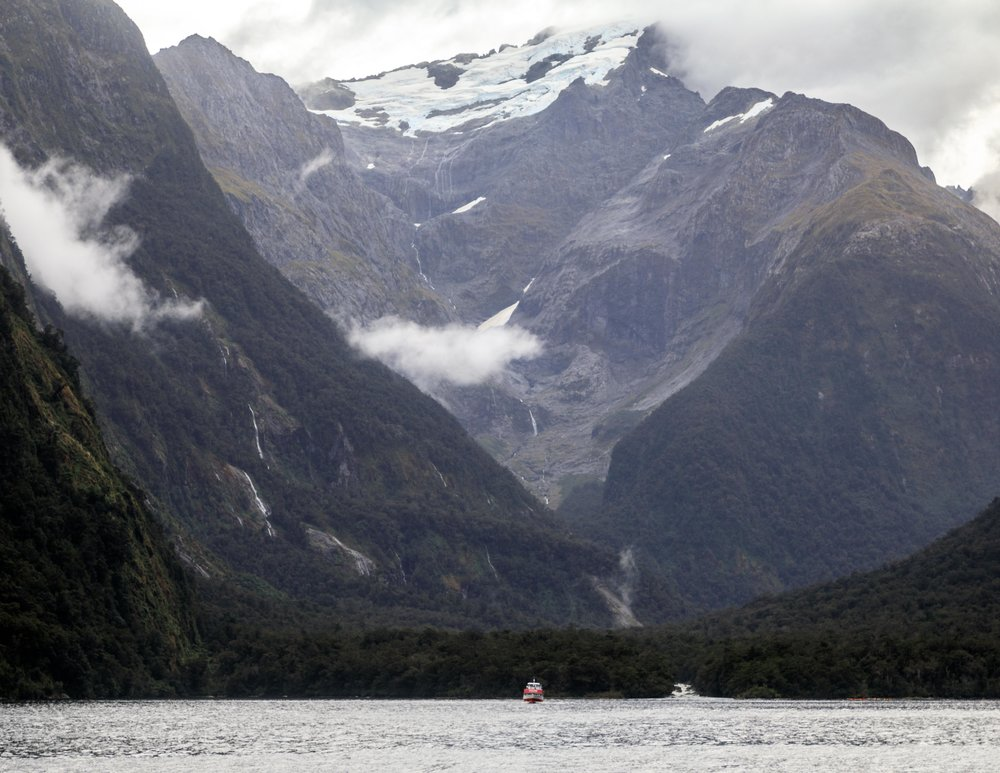 Glacier at Milford Sound
