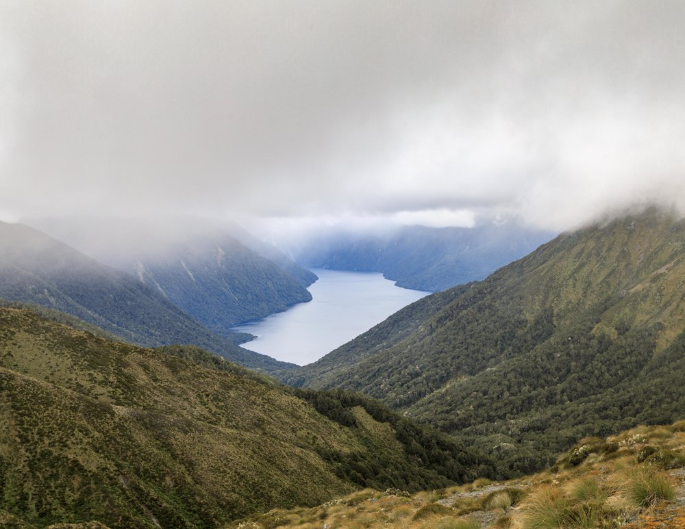 Lake Te Anau from the Kepler Track