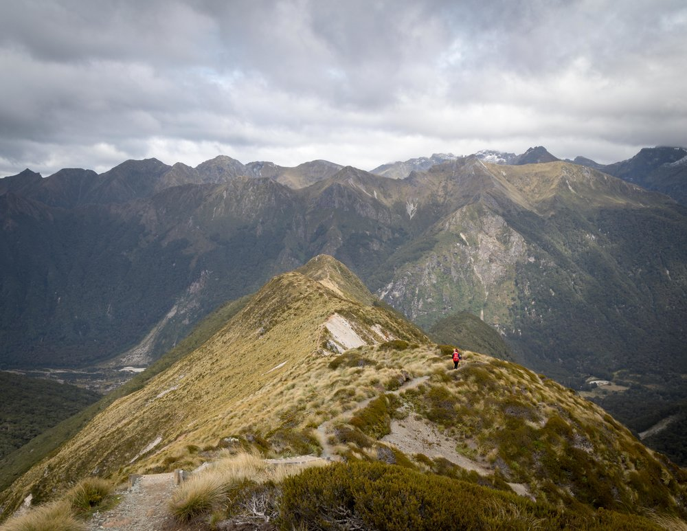 The final ridge on the Kepler Track