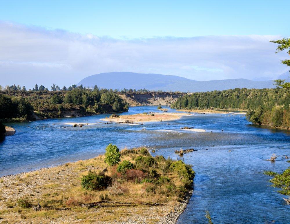Waiau River near Manapouri