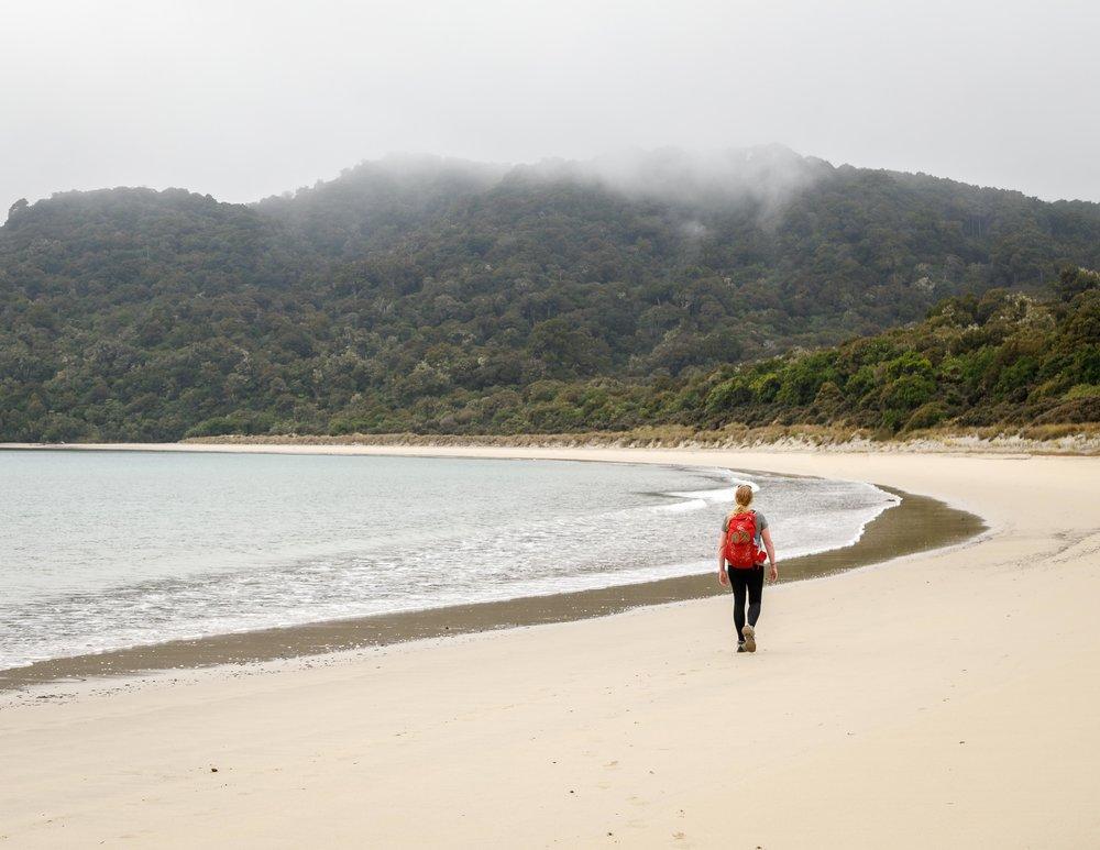 Maori Beach, Rakiura Track