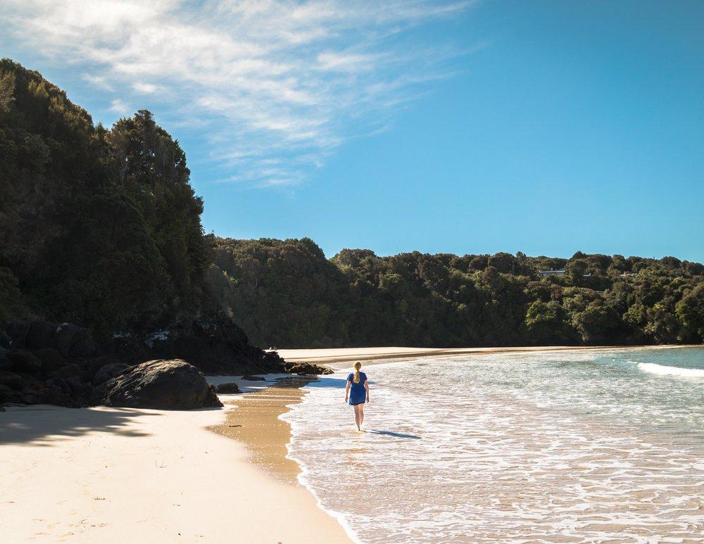 Bathing Beach, Stewart Island