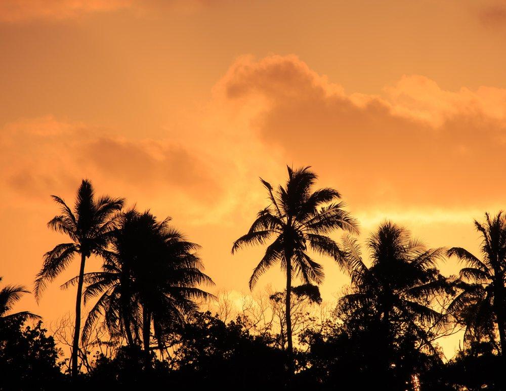 Sunset at Port Vila, Vanuatu