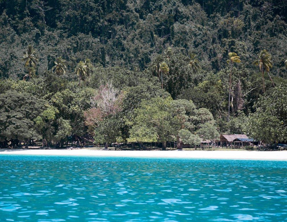 Champagne Beach at Espiritu Santo, Vanuatu