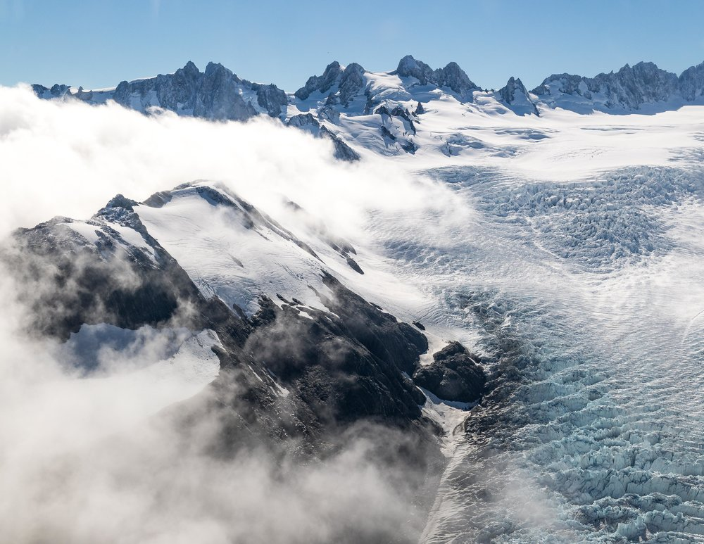 Fox Glacier Heli-hike