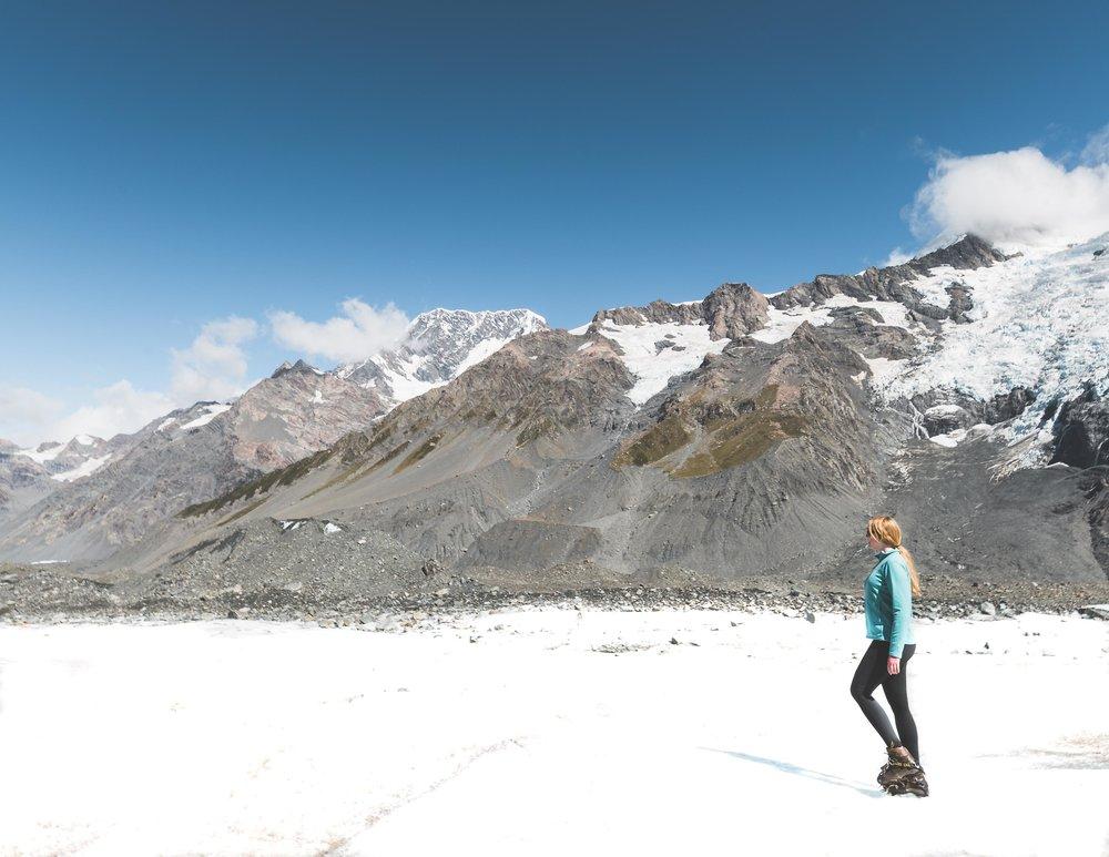 Mount Cook Heli-Hike, New Zealand