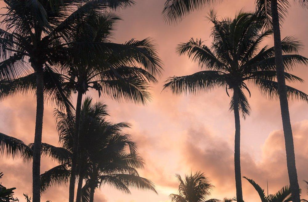 Sunsets on Vanuatu