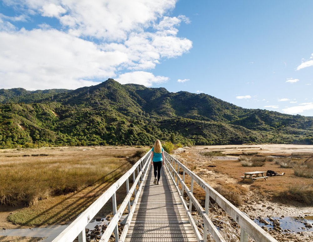 The Abel Tasman Track: Starting the trail