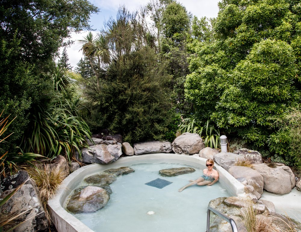 Best Hot Springs in New Zealand: Hamner Springs