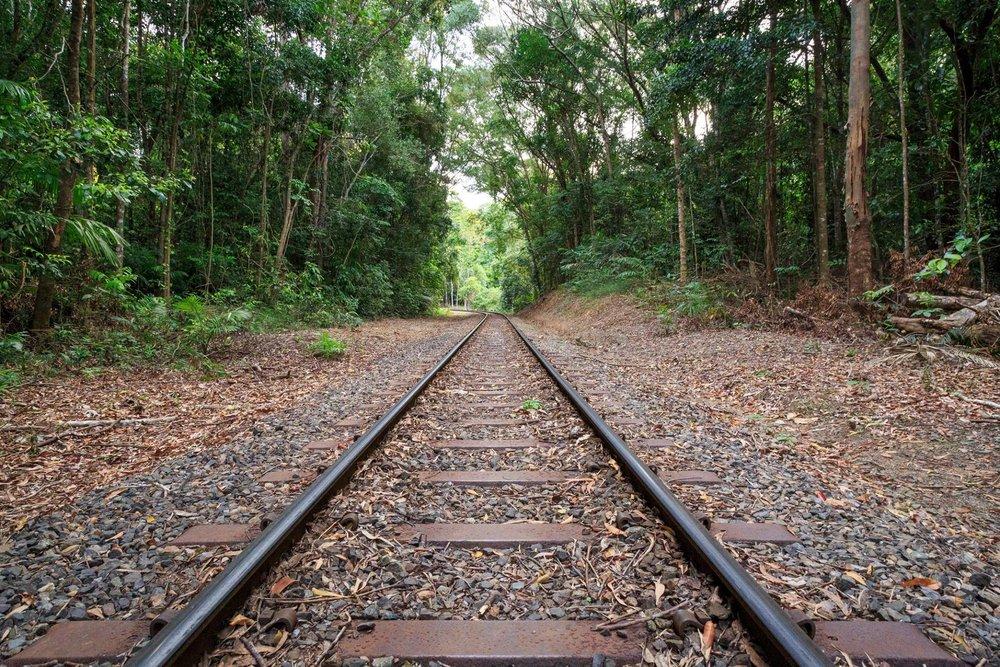 The rainforest train at Kuranda