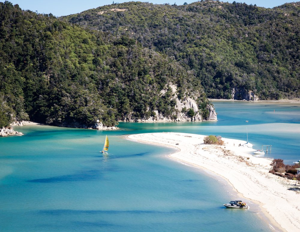 The beautiful Torrent Bay