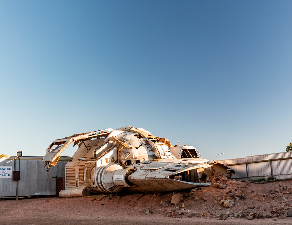 The spaceship from Pitch Black, Coober Pedy
