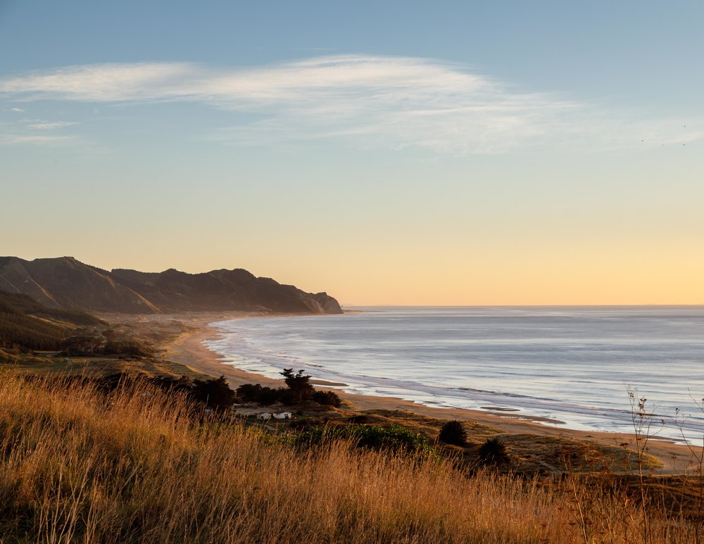 Sunrise at Ocean Beach, Hawkes Bay
