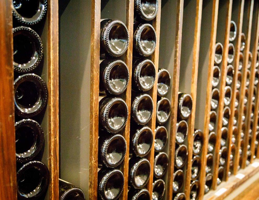 The wine at Black Barn Vineyard, Hawkes Bay