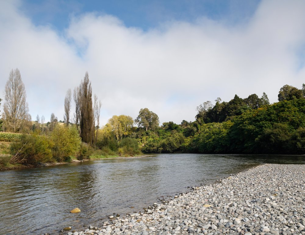 The start of the Whanganui Journey: Taumaranui