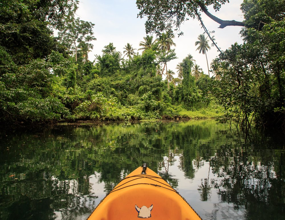 The Kayak to Nanda Blue Hole