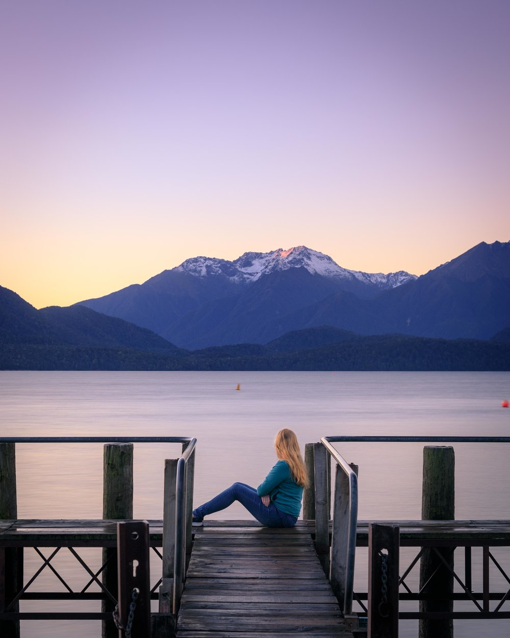Instagrammable spots of New Zealand: Te Anau Jetty