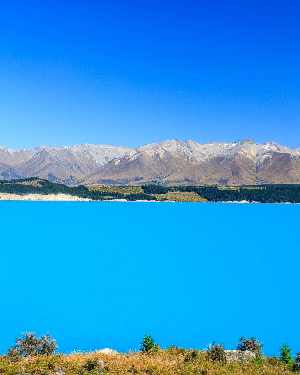Instagrammable spots of New Zealand: Lake Pukaki