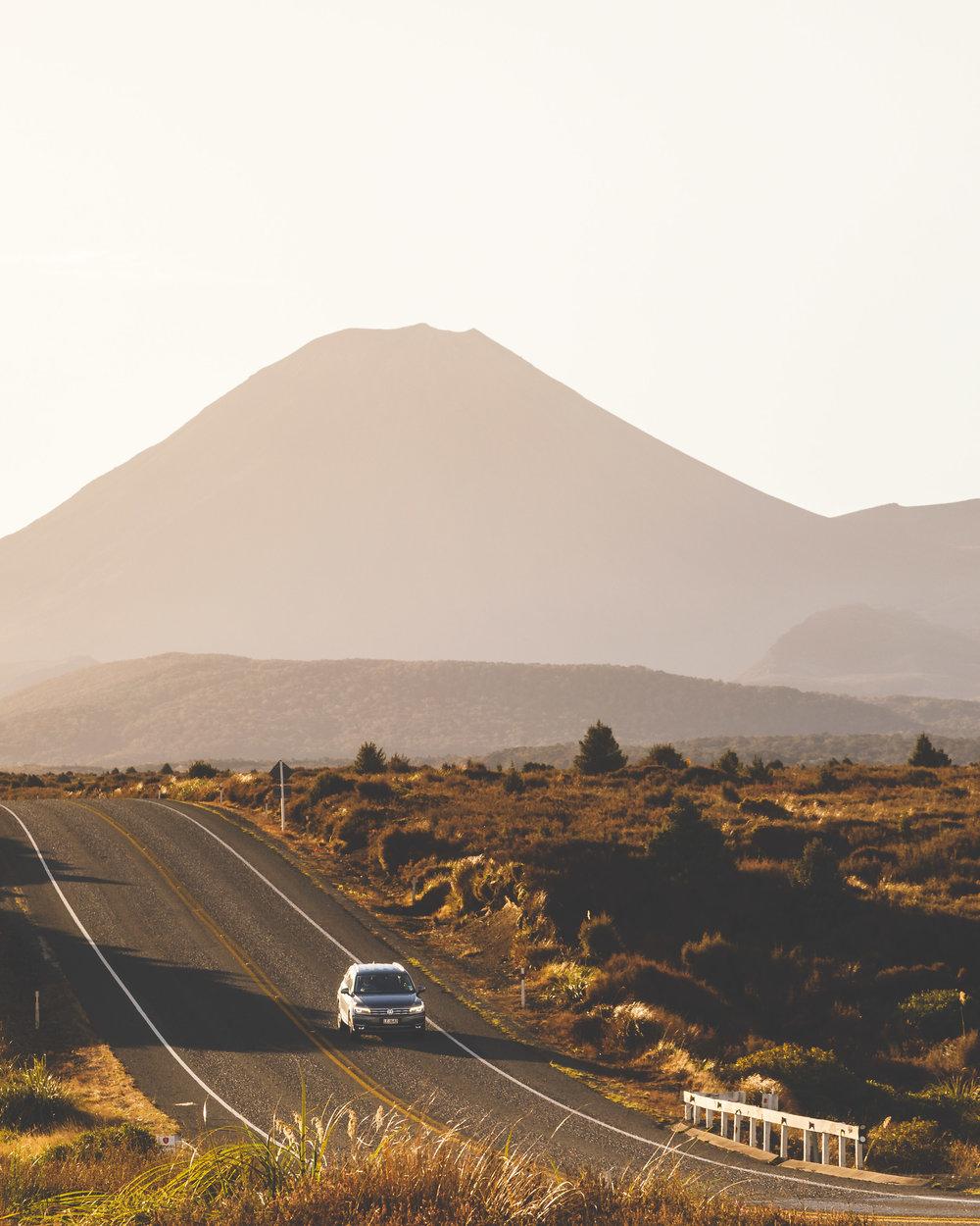 Most Instagrammable spots in New Zealand: Desert Road