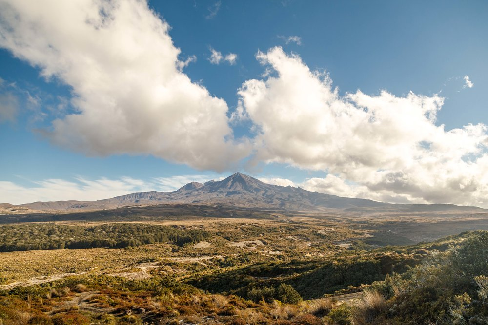 Mount Ruapehu at Golden Hour