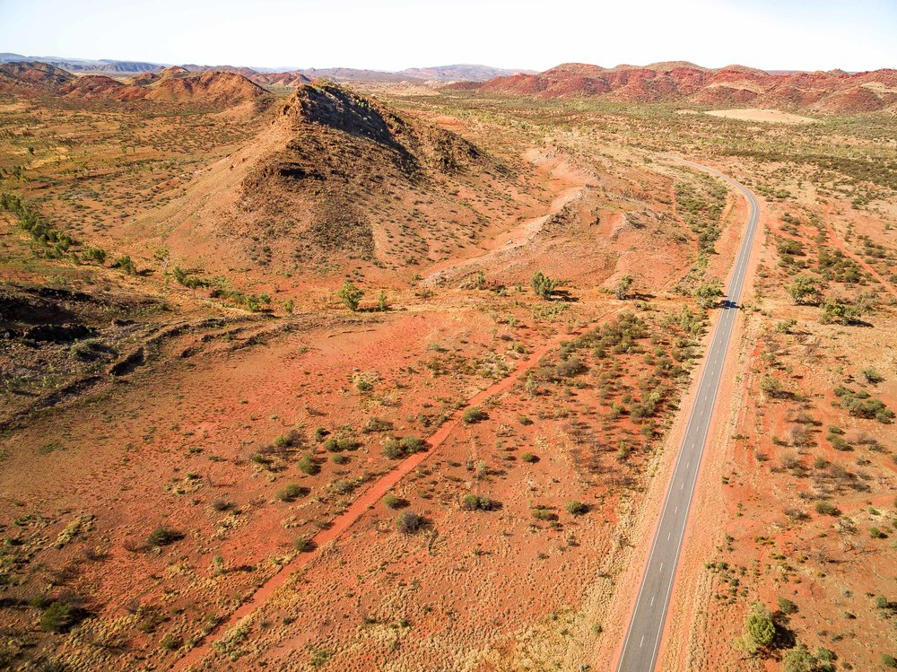 The Ross Highway, Alice Springs, Northern Territory