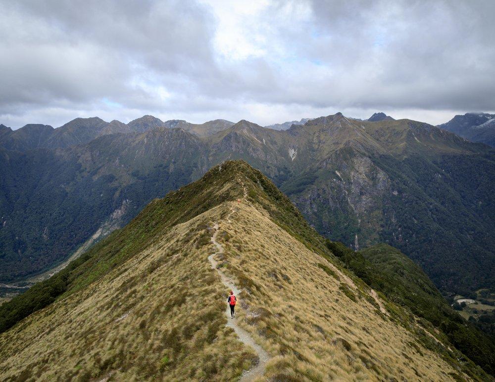 Instagrammable spots of New Zealand: The Kepler Track