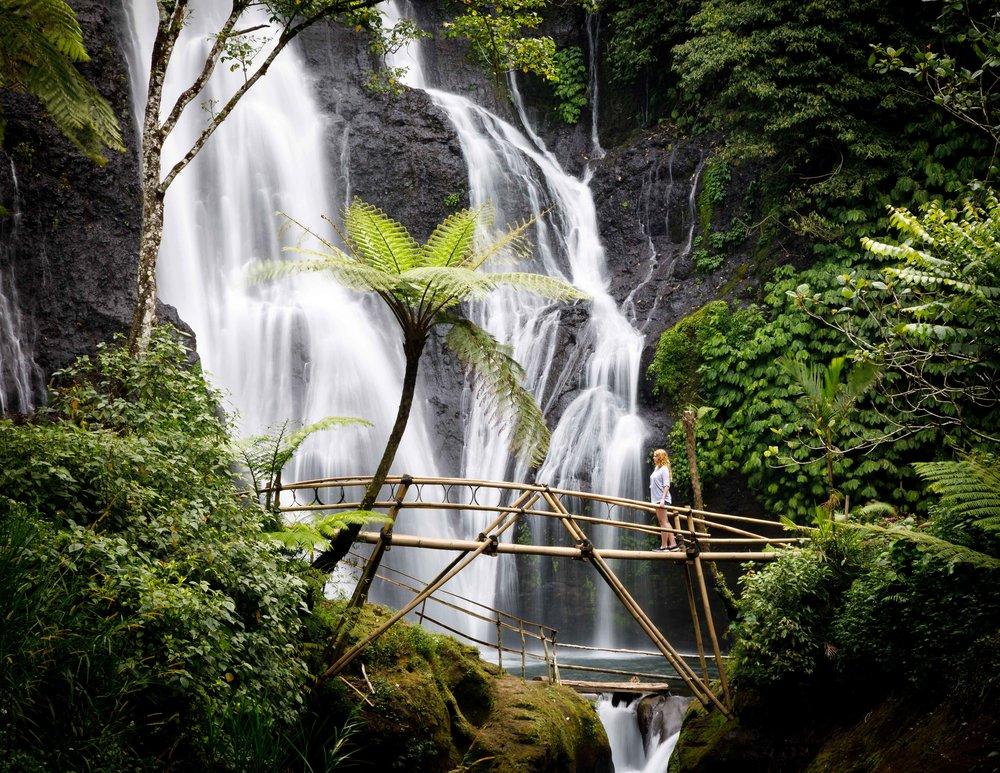Our favourite of Banyumala Waterfall