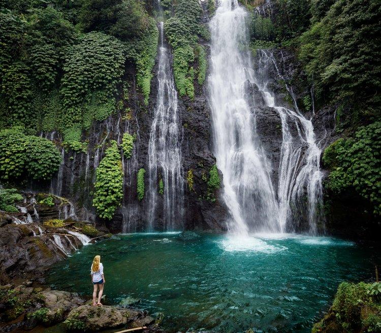 Hasil gambar untuk Banyumala Waterfall
