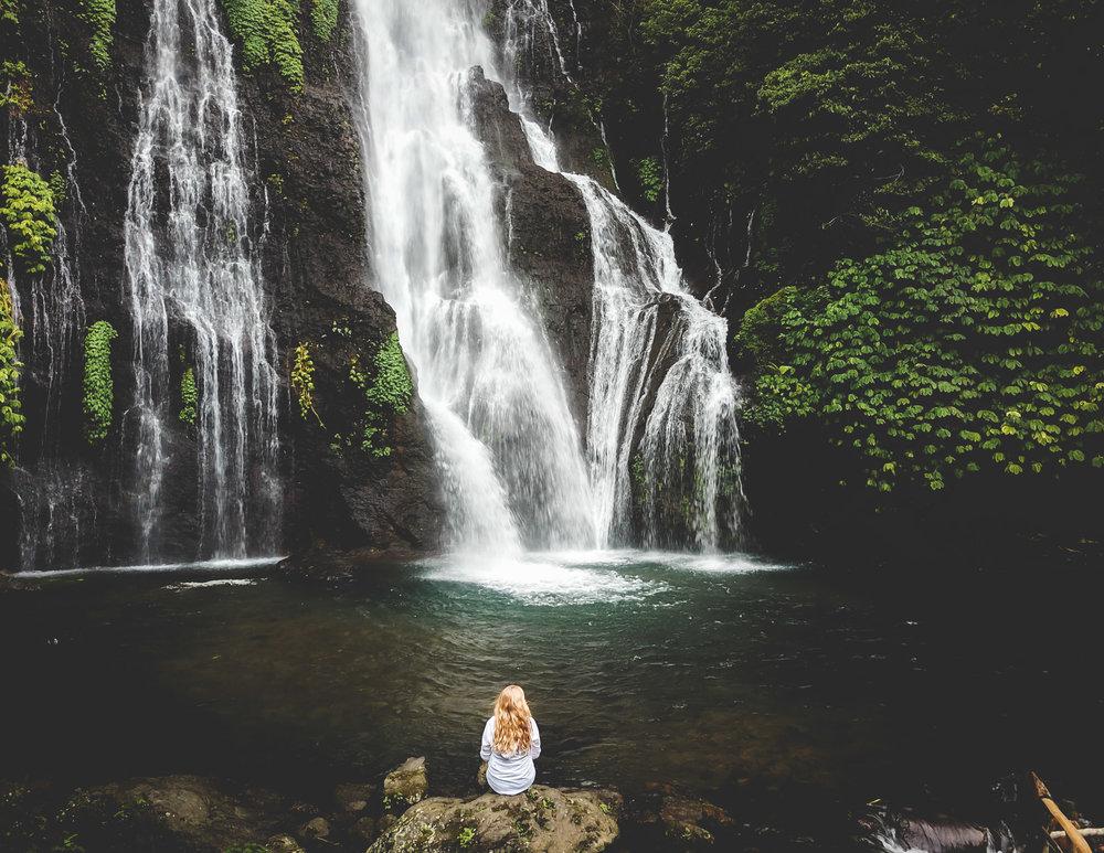 Banyumala Waterfall entrance fee