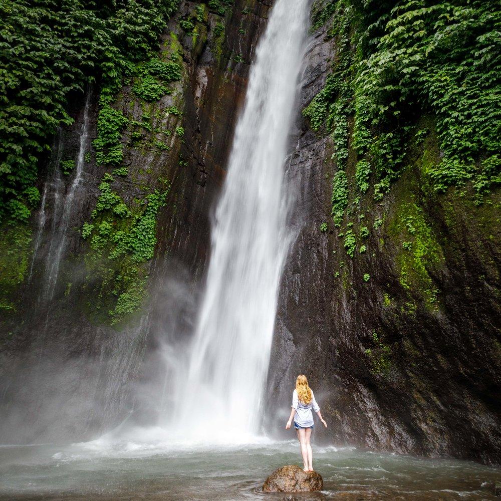 Munduk Waterfall entrance fee