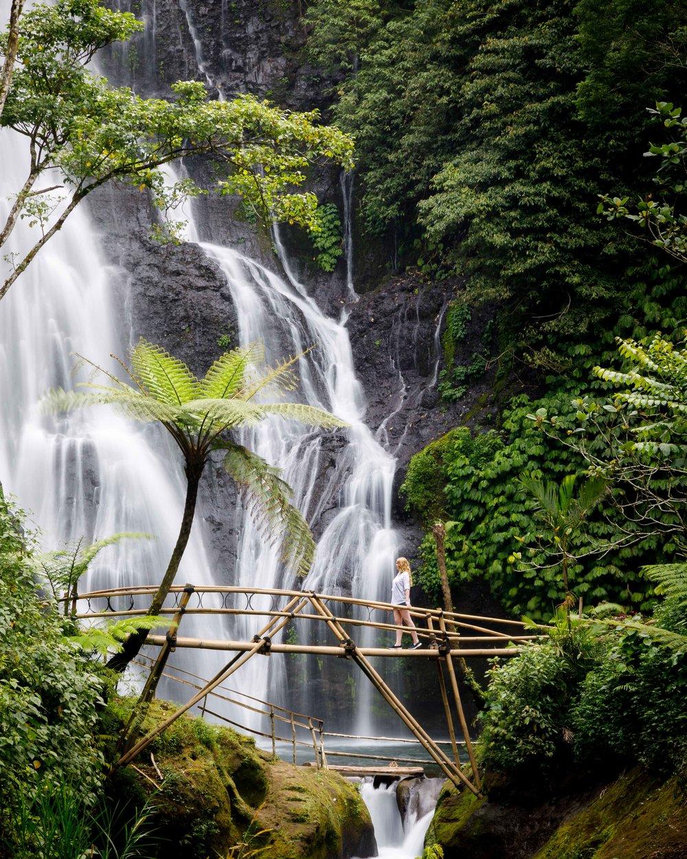 Best waterfalls in Bali: Banyumala Waterfall